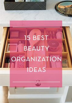 DIY: 15 beauty organization ideas for your makeup. Organize your makeup. ***MUST READ****