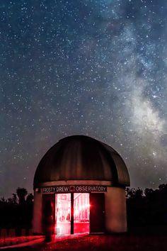 Frosty Drew Observatory, Ninigret Park, Charlestown, RI.  #VisitRhodeIsland