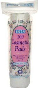 Iris Quilted Cosmetic Pads - 100% Cotton 100 Cosmetic Pads by Iris. $7.48. Buy Iris Makeup Sponges & Puffs - Iris Quilted Cosmetic Pads - 100% Cotton 100 Cosmetic Pads