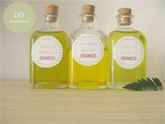 Organicus: Maceración de aceites. DIY