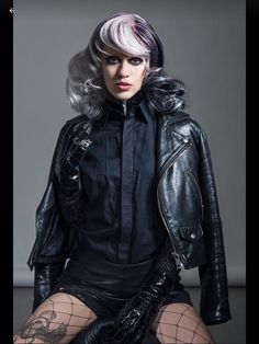 """""""Poetry in motion"""" nominiert  in der Kategorie  Colour  Austrian  Hairdressing Awards 2017 Awards 2017, Hairdresser, Goth, Style, Fashion, Goth Subculture, Gothic, Moda, La Mode"""