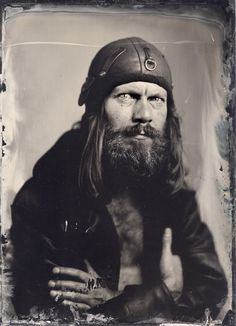 Globica 13x18 + Zeiss 250/4.5. wet plate collodion. In People, Portrait, Male. Andrzej, photography by Maciek Leśniak. Image #442474