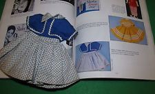 """1958 Ideal Shirley Temple Factory Bolero DRESS #9504 for 12"""" Doll!  DRESS ONLY!"""