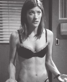 "Jennifer Carpenter her body is amazing, not just because she's ""thin"". Look at those freaking ABS"