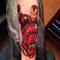 Iron Man tattoo - Marvel tattoo