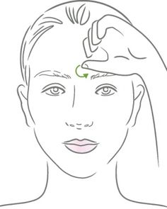 DIY Sinus Congestion Massage. I just tried this after being congested all day and it actually works!