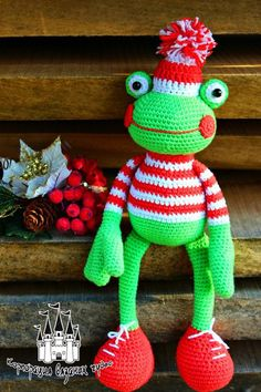 Amigurumi Frog-Free Pattern (Amigurumi Free Patterns)