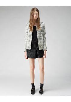 Isabel Marant / Imperia Boiled Wool Jacket | La Garconne