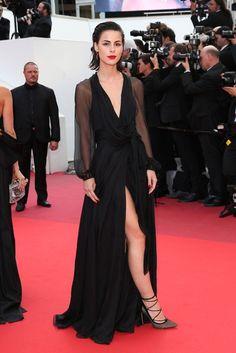 Cannes 2016 - Lena Meyer-Landrut in Saint Laurent - (montée des marches Loving)