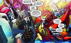 MTMTE #30. Seriously Rodimus and Megatron are unbelievable