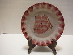 Beautiful MACS/M.A.C.S/ICS Vietri Italian Ceramic Pottery Plate-Fish Mark