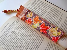 "Marcapáginas ""Otoño"" / Bookmark: Fall"