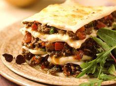 lasagnes-poivrons Eat Smarter, Tacos, Menu, Mexican, Pasta, Cooking, Ethnic Recipes, Desserts, Food