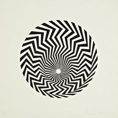 BRIDGET RILEY Untitled, 1962