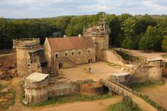 Guédelon Castle Is Being Built with 13th-Century Techniques