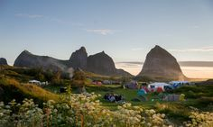 The Træna Festival, Norway Monument Valley, Places Ive Been, Summertime, Europe, Island, Explore, Adventure, Vacation, World