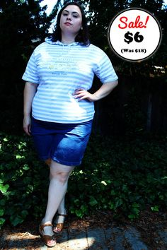 CLEARANCE  Plus Size  Vintage 'B.U.M. Equipment' by TheCurvyElle, $6.00