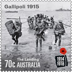 Australia's first WWI Victoria Cross recipient, Albert Jacka VC, remembered in Gallipoli stamp issue. Gallipoli Campaign, Last Battle, Postage Stamp Art, Anzac Day, Lest We Forget, World War One, Stamp Collecting, Vintage Posters, Sport