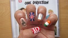 One Direction Nails!!! doing these for their concert i am going to on may 26th :)