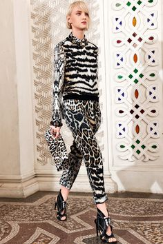 Roberto Cavalli 2014 - Leopard Clutch Bag  Shop newly launched designer accessories on www.VeryFirstTo.com