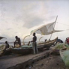 Denis Dailleux expose « Ghana » à la Galerie 127, Marrakech