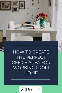 """For those who are working from home for the first time, it can be challenging to get into """"work mode,"""" especially if you're trying to tackle your daily tasks from the comfort of your living room or kitchen. So, your best bet to maximize your productivity is to create a designated office area where you can work undisturbed with access to all of the tools you need. Here are seven tips that might come in handy as you set up the perfect home office area: Home Design Decor, House Design, Home Decor, Home Office, Create, Kitchen, Productivity, Living Room, Tips"""