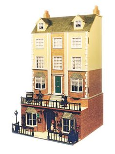 Maple Deluxe Townhouse Dolls House