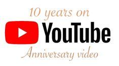 Ten years on YouTube anniversary video #smallyoutuber #smallyoutubers