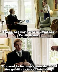 Arrested Development + Downton Abby= Arrested Downton (the greatest thing ever).