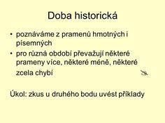 Historické prameny. - ppt stáhnout