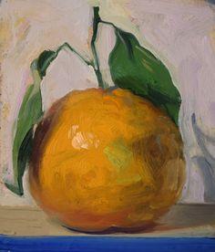 a painting a day: Satsuma Orange, 11/16/2015