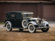 1933 Rolls-Royce 20/25 Enclosed Limousine Sedanca by Thrupp & Maberly