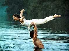 Lake Lure North Carolina is where this famous scene from Dirty Dancing was filmed.