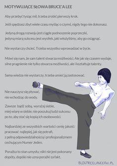 Bruce Lee ?  ale  zasady dobre