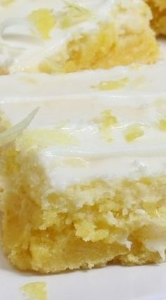 Cream Cheese Lemon Bars!!  Lemon Zest and Lemon Juice Provide a Fresh Lemony Flavour ~ Moist and Full of Flavour!!