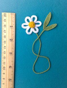 Daisie Crochet marcador regalo para los niños Organik por ElenaGift