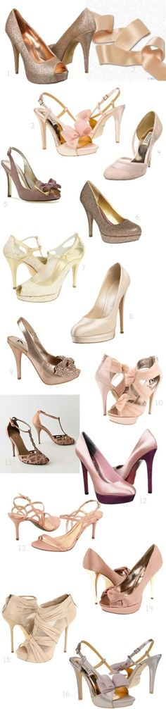 Wedding shoes, prom shoes. Love it.
