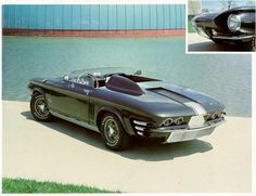 Obviously, Bill Mitchell wasn't going to leave the Corvair alone for long. Beginning with this 1961 Sebring Spyder, there was a steady stream of Corvair-based concept cars. The Sebring Spyder […] Convertible, Automobile, Chevy Muscle Cars, Sweet Cars, Us Cars, American Muscle Cars, Custom Cars, Concept Cars, Cars Motorcycles