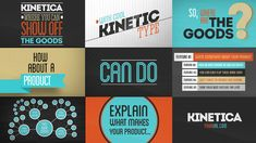 Kinetica After Effects Template at VideoHive only for $35 http://videohive.net/item/kinetica/3022207?ref=Stefoto