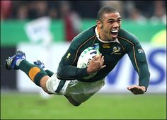 Bryan Habana!! :D SuperStar    Who is your Favourite SA Rugby Player 4U Fans??     www.facebook.com/vodacom4u