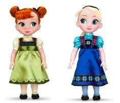 Frozen Anna & Elsa Animators Dolls