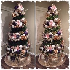 Let your Christmas Decoration spell out luxury, elegance & affluence. Here are some Rose Gold Christmas Decor Ideas for you that are simply perfect. Rose Gold Christmas Tree, Rose Gold Christmas Decorations, Romantic Christmas Gifts, Cool Christmas Trees, Christmas Fairy, Christmas Tree Themes, Christmas Tree Toppers, Christmas Wreaths, Christmas Crafts