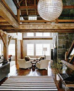 wood. open floor plans