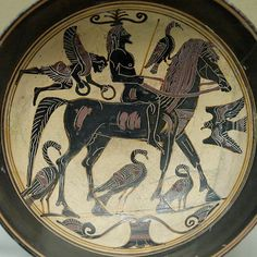 Lakonian black-figured kylix, c. 550–530 B.C.