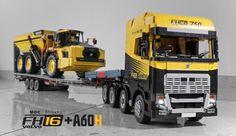 Lego Volvo FH16 750 Truck