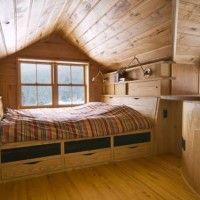 contemporary bedroom of modern farm house 21 200x200 Modern Farm House Design