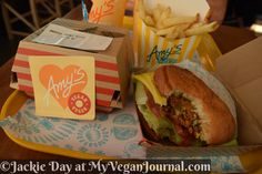 Vegan Fast Food at @amyskitchen! GMO-free and organic too! Amy's Drive Thru Now Open! Check out this yummy review!! #MyVeganJournal