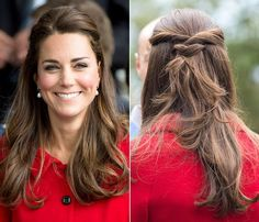 Kate Middleton's Half-Up Hairstyle How-To: Get the Duchess' Easy Look in 4 Steps