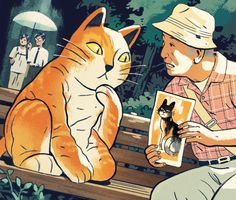 Kafka on the Shore, Sam Bosma for The New Yorker