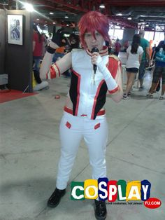 Otoya Ittoki Cosplay from Uta no Prince-sama in Expomanga 2014 ES
